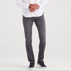 {7FAMK} Standard Grey Wash Jeans